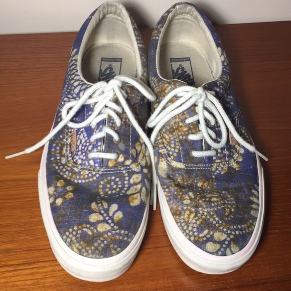 bb2761b1705b72 Vans Rare leaves patterned Sneakers size 11